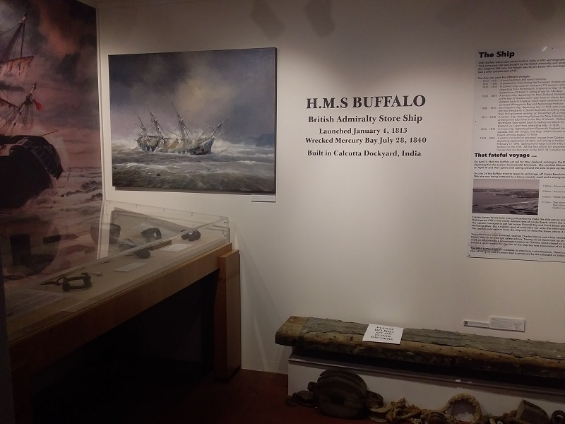 New HMS Buffalo Exhibit