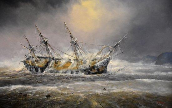HMS Buffalo's cannon or carronade?